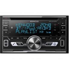 KENWOOD DPX-5100BT 2DIN CD-S AUTÓRÁDIÓ, FEJEGYSÉG USB/AUX, BLUETOOTH